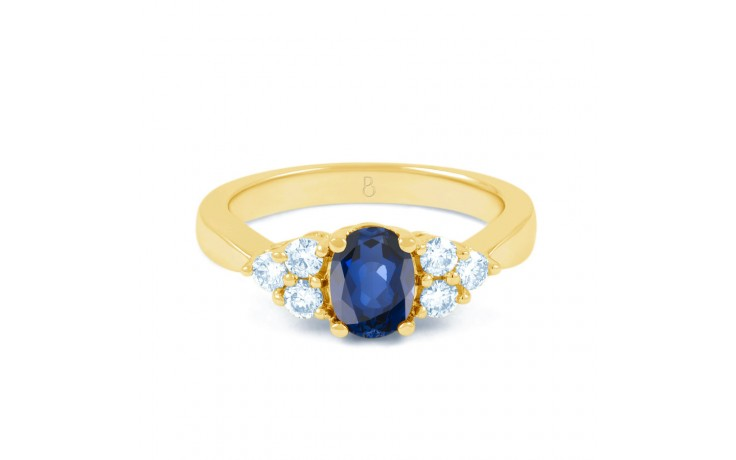 Vintage Blue Sapphire Gold Ring product image 1