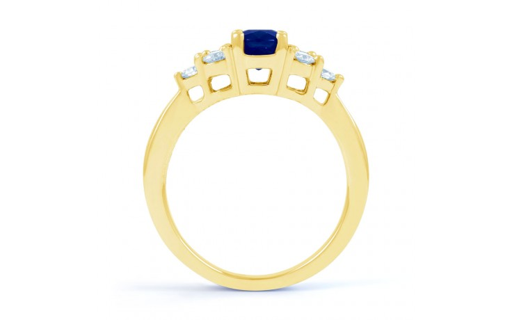 Vintage Blue Sapphire Gold Ring product image 3