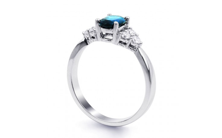 Blue Topaz Engagement Ring product image 2