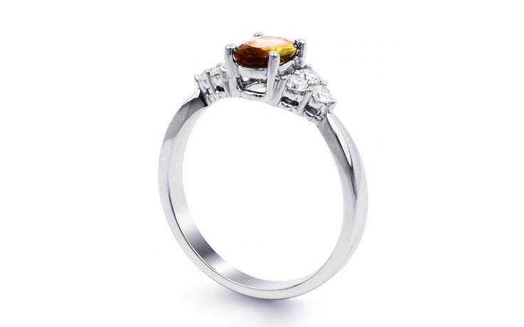 Citrine & Diamond Vintage Ring product image 2