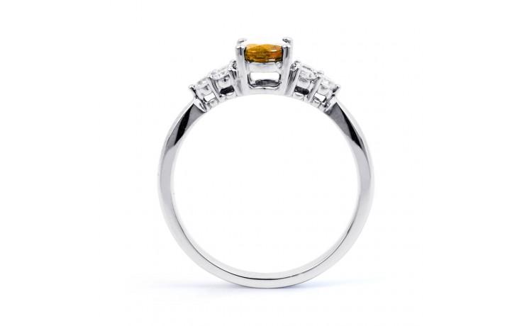 Citrine & Diamond Vintage Ring product image 3