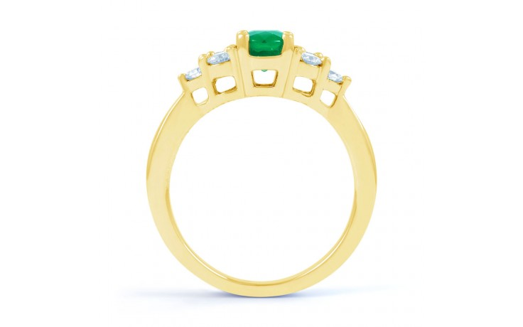 Vintage Emerald Gold Ring product image 3