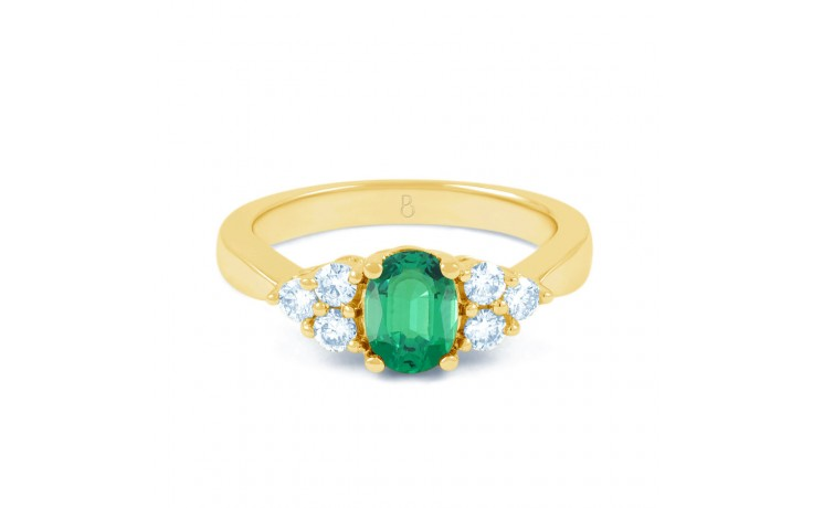 Vintage Emerald Gold Ring product image 1