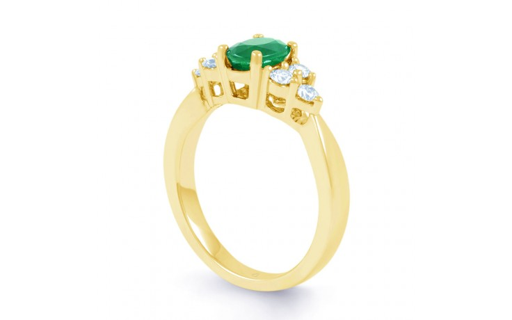 Vintage Emerald Gold Ring product image 2
