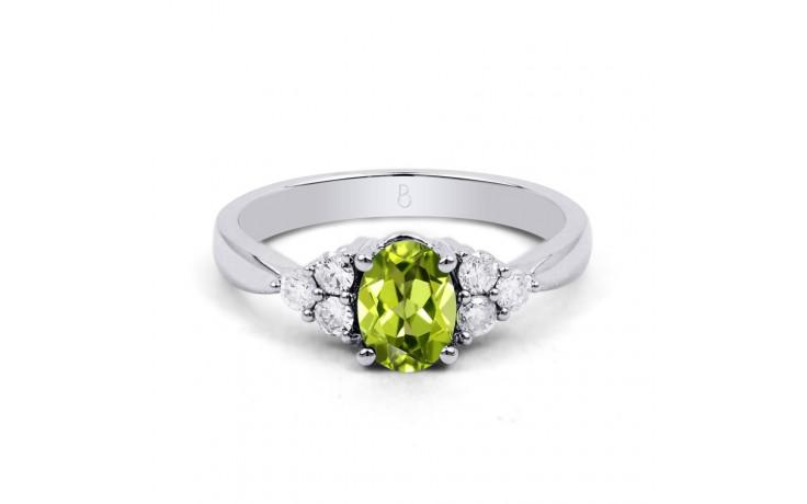Peridot & Diamond Vintage Ring product image 1
