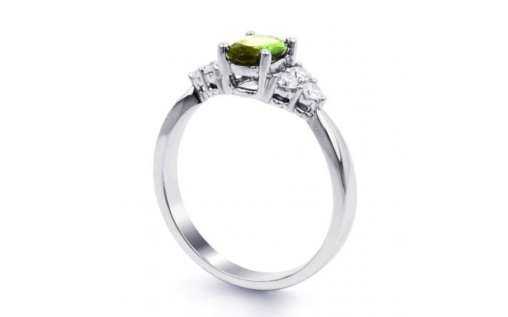 Peridot & Diamond Vintage Ring product image 2