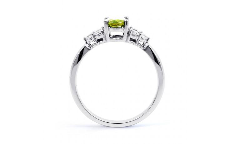 Peridot & Diamond Vintage Ring product image 3