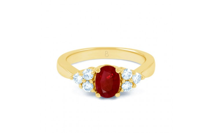 Vintage Ruby Gold Ring product image 1
