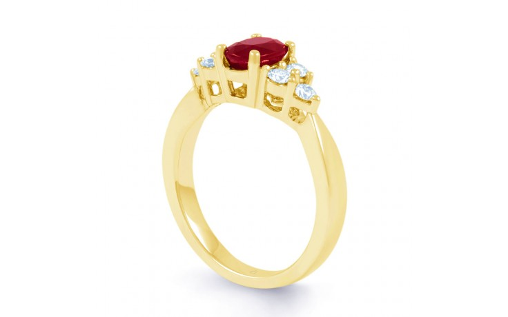Vintage Ruby Gold Ring product image 2