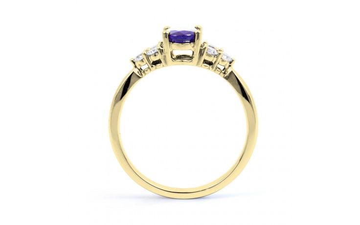 Tanzanite Gold Engagement Ring product image 3