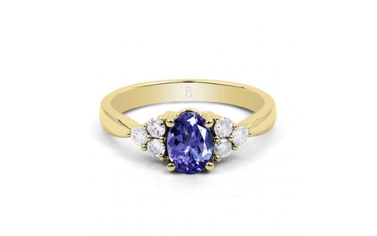 Tanzanite Gold Engagement Ring product image 1