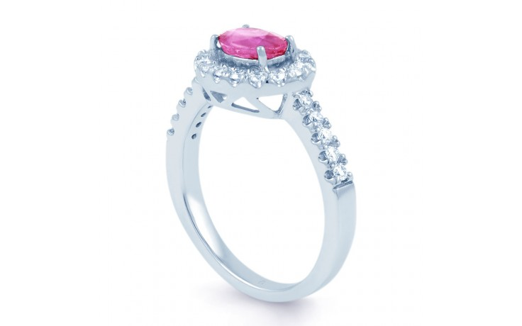 Mai Pink Sapphire Gold Ring product image 2