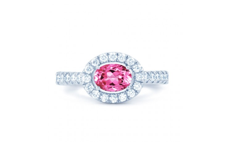 Mai Pink Sapphire Gold Ring product image 1