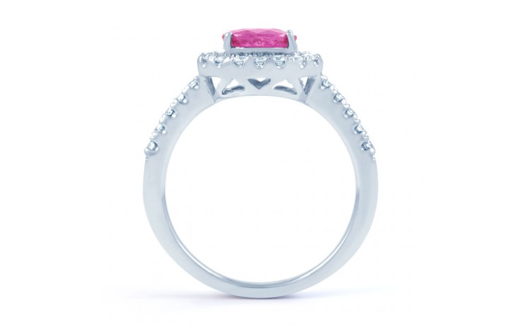 Mai Pink Sapphire Gold Ring product image 3