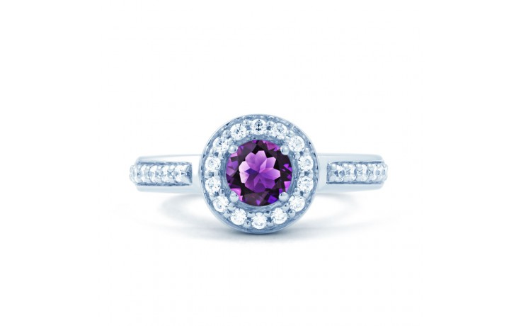Vintage Amethyst Halo Ring product image 1