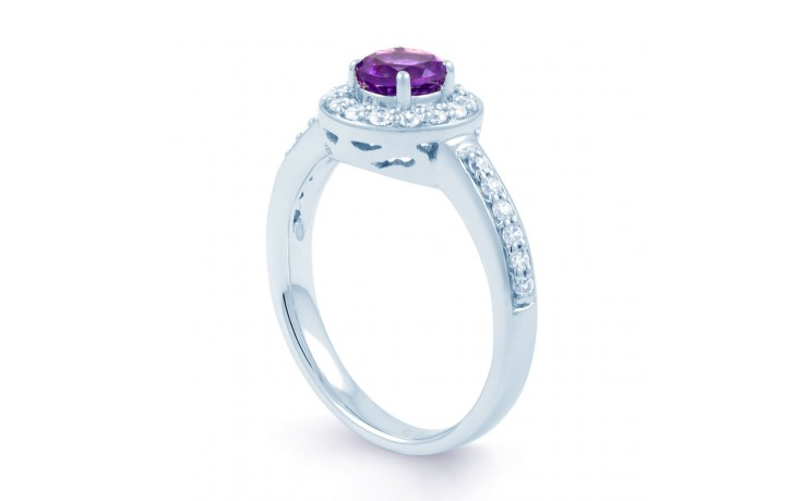 Vintage Amethyst Halo Ring product image 2