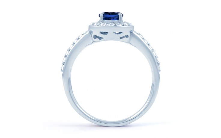 Mai Blue Sapphire Cluster Ring product image 3