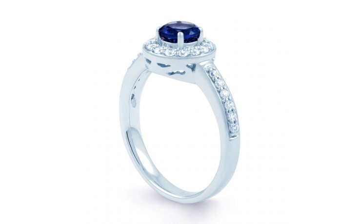 Mai Blue Sapphire Cluster Ring product image 2