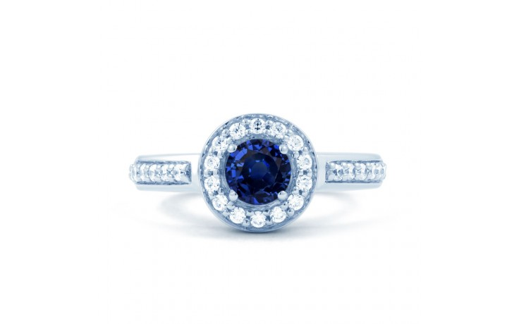 Mai Blue Sapphire Cluster Ring product image 1