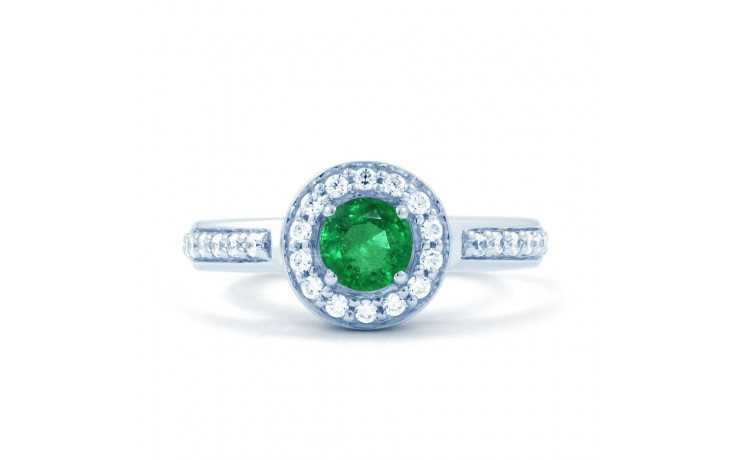Emerald Cluster Ring product image 1