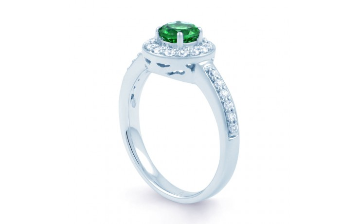 Emerald Cluster Ring product image 2