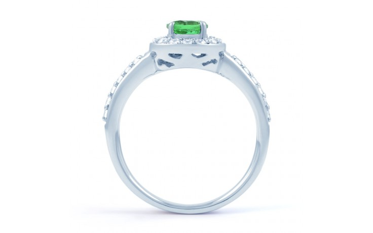 Emerald Cluster Ring product image 3