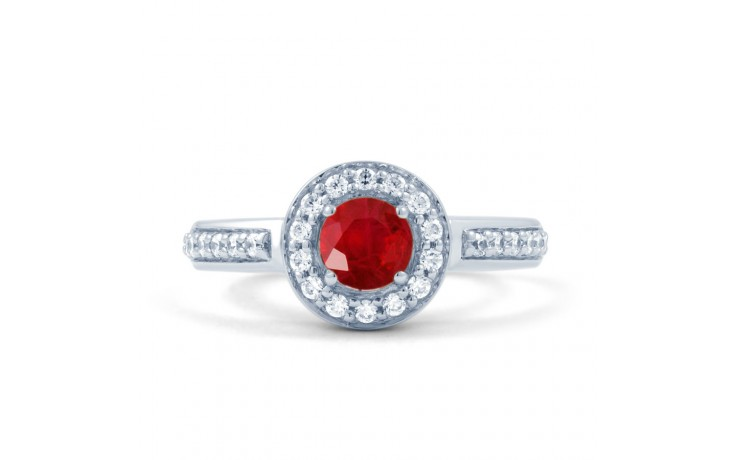 Ruby Cluster Ring product image 1