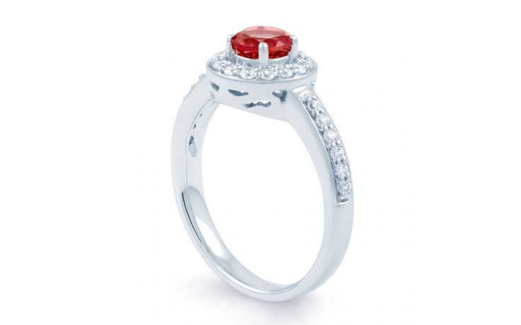Ruby Cluster Ring product image 2