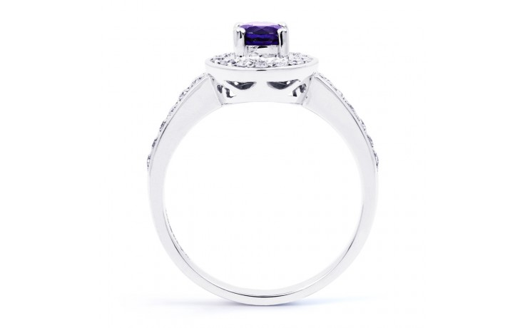 Vintage Tanzanite Halo Ring  product image 3
