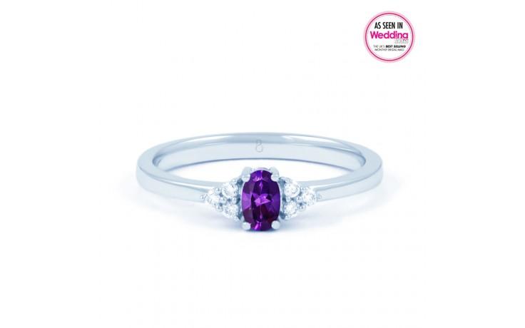 Leo Amethyst & Diamond Ring  product image 1