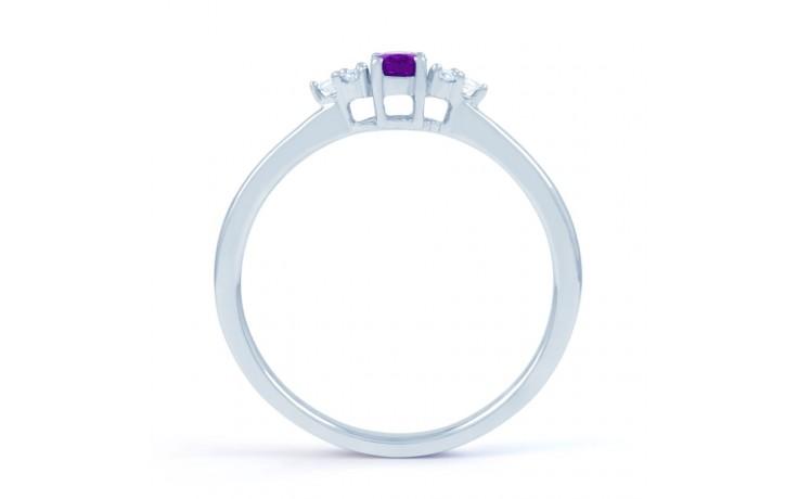Leo Amethyst & Diamond Ring  product image 3