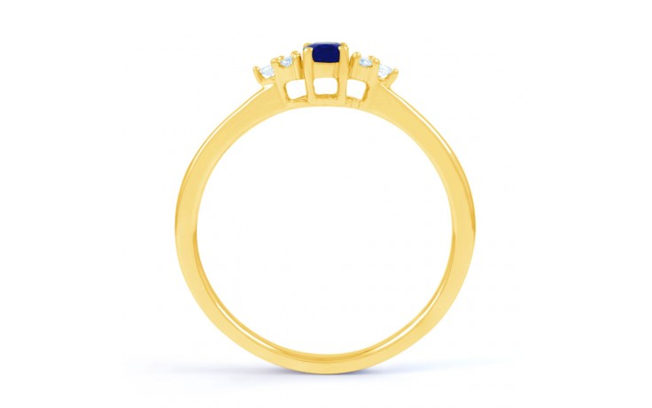 Leo Blue Sapphire Gold Ring product image 3