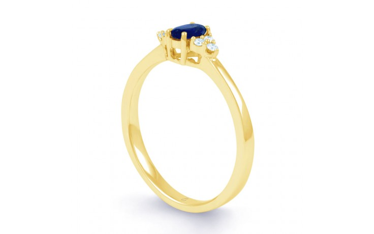 Leo Blue Sapphire Gold Ring product image 2