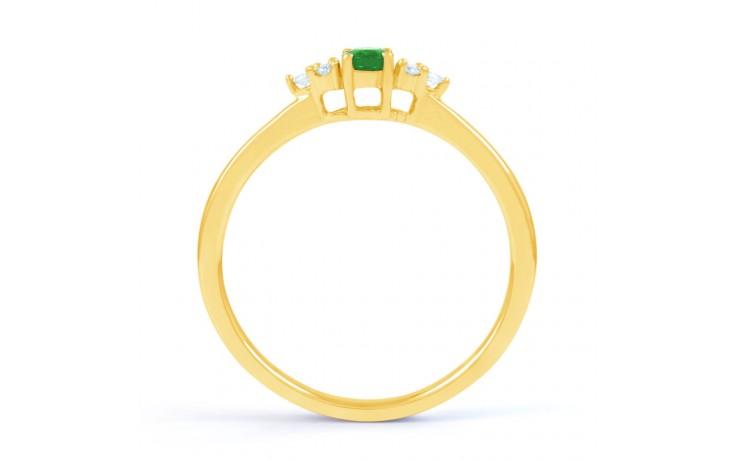 Leo Emerald Gold Ring product image 3