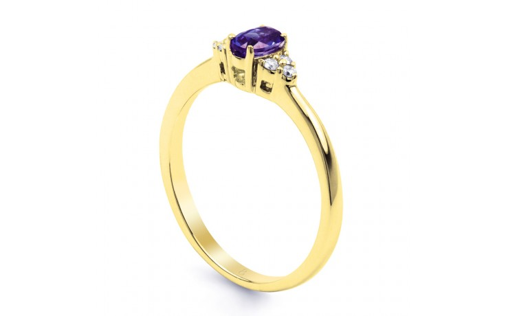 Leo Tanzanite Gold Ring product image 2