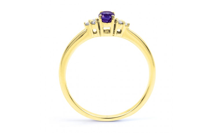 Leo Tanzanite Gold Ring product image 3