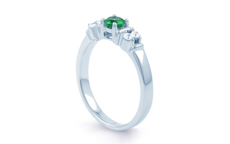 Lotus Emerald Ring product image 2