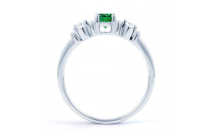 Lotus Emerald Ring product image 3