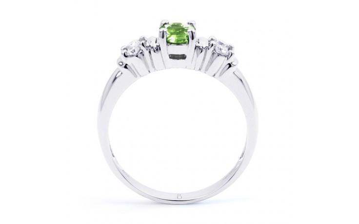 Lotus Peridot & Diamond Ring product image 3