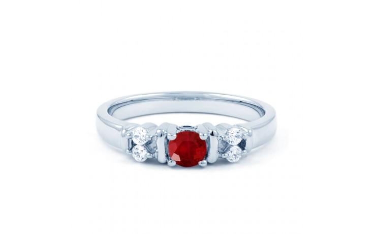 Lotus Ruby Diamond Ring product image 1
