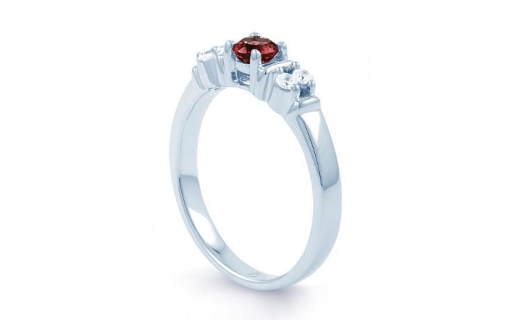 Lotus Ruby Diamond Ring product image 2