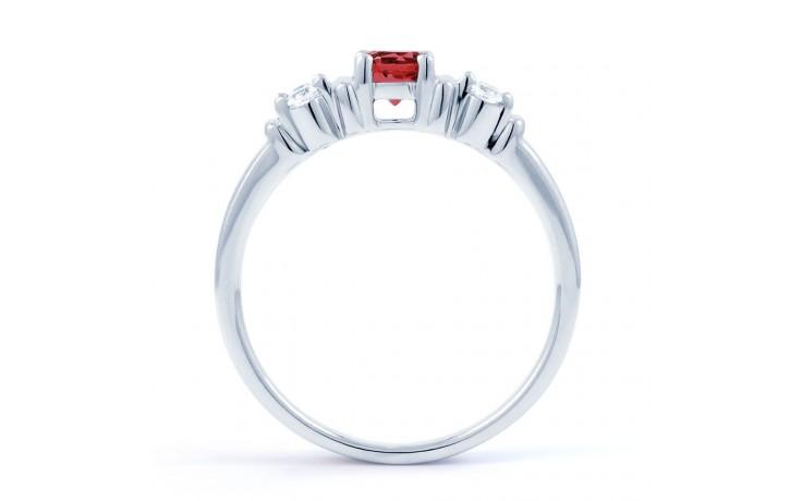 Lotus Ruby Diamond Ring product image 3