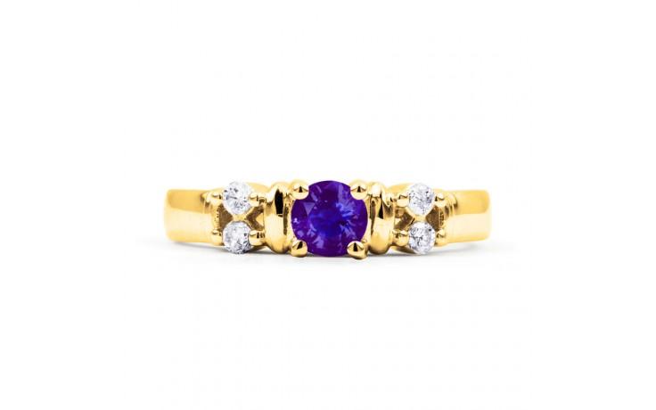 Lotus Tanzanite Gold Ring product image 1