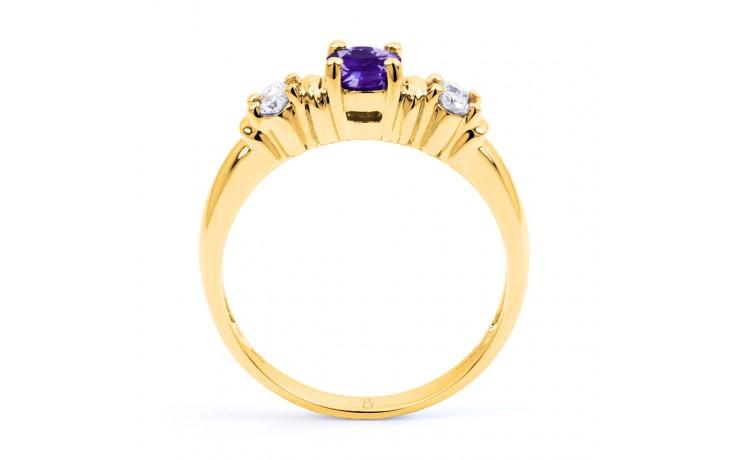 Lotus Tanzanite Gold Ring product image 3