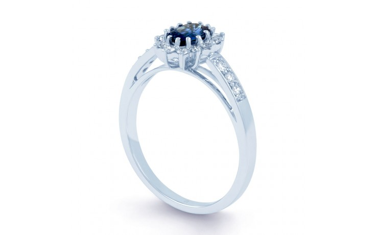 Starlight Blue Sapphire Ring product image 2