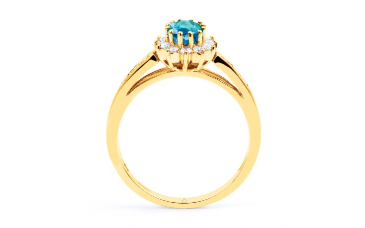 Starlight Blue Topaz Gold Ring product image 3