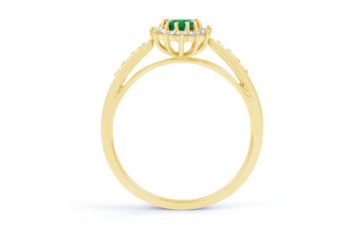 Starlight Emerald Gold Ring product image 3