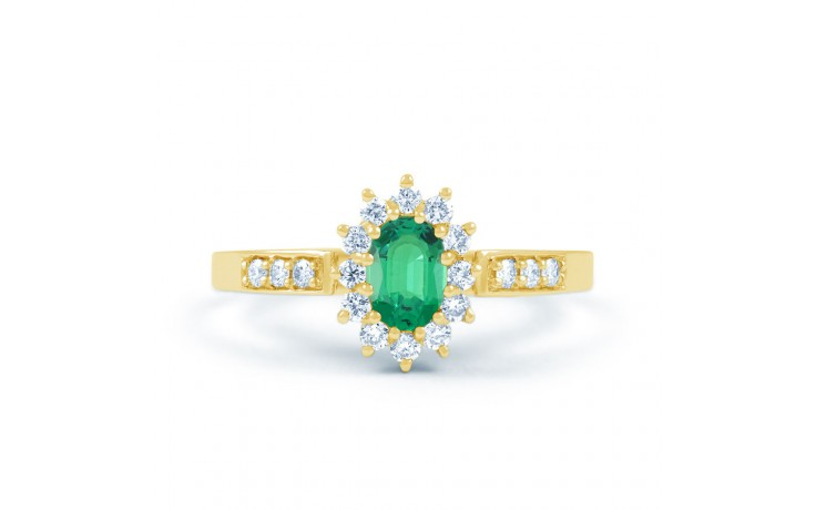 Starlight Emerald Gold Ring product image 1