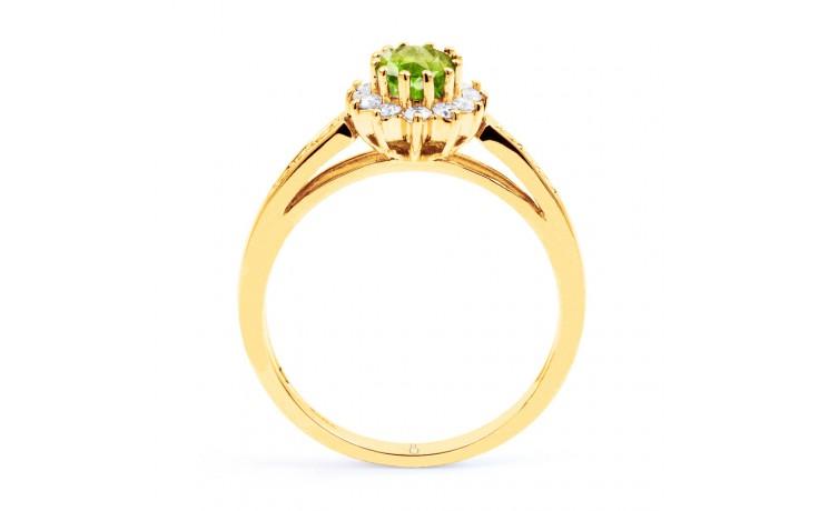 Starlight Peridot Gold Ring product image 3