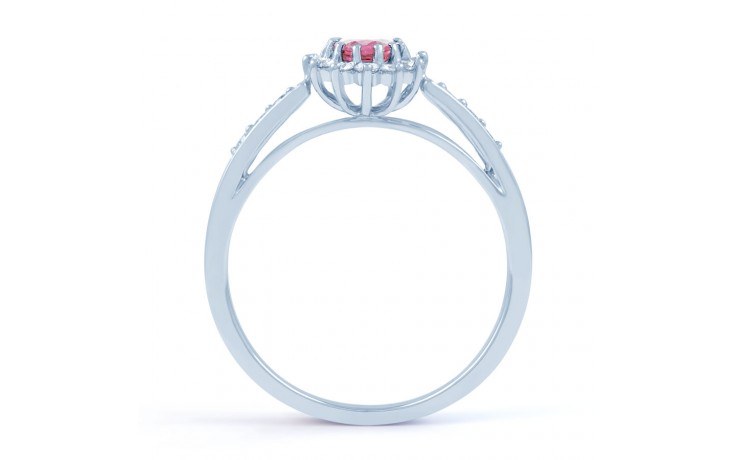 Starlight Pink Sapphire Ring  product image 3